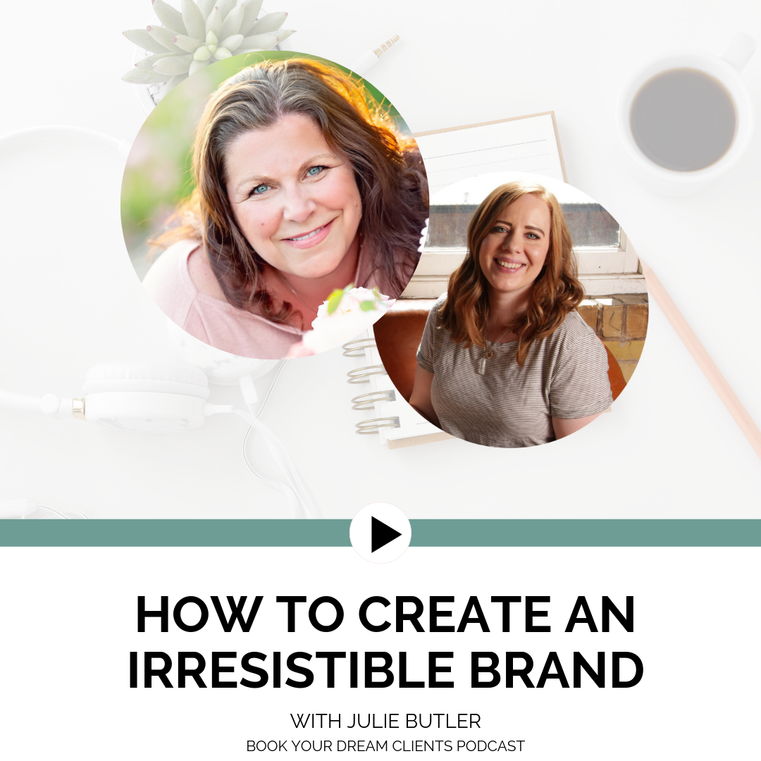 """Podcast Interview """"How to Create an Irresistible Brand"""""""